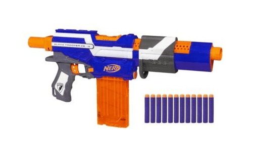 3 Cool Facts About Nerf Alpha Trooper CS-12