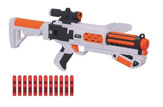 Review of the Star Wars Nerf Gun First Order Stormtrooper Deluxe Blaster