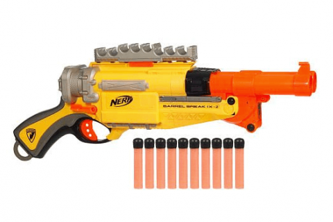 nerf barrel break